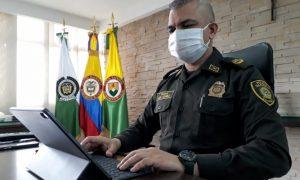 Coronel GÓMEZ LUNA - Comandante Policía Caldas